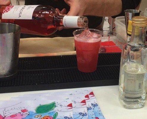 IntoTheRosé cocktail