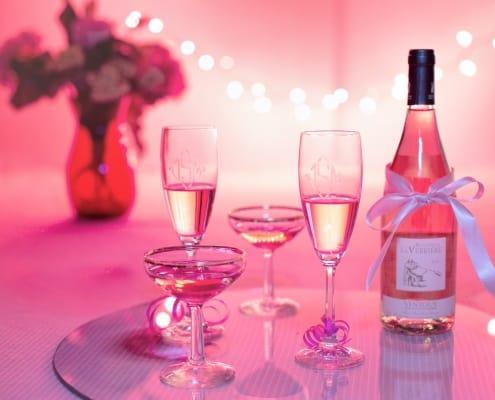 Celebriamo con il vino rosé
