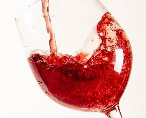 Come è nato il vino rosé