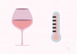 Temperatura Vino Rosé
