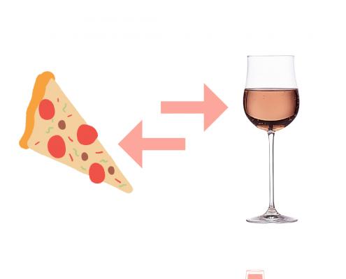 Abbinamenti col vino rosé